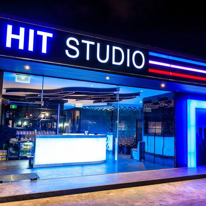 Hit Studio Fit out