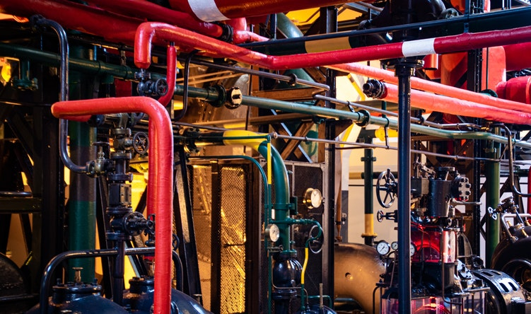 Industrial Plant Room