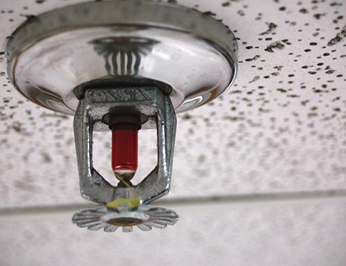 Water based sprinklers