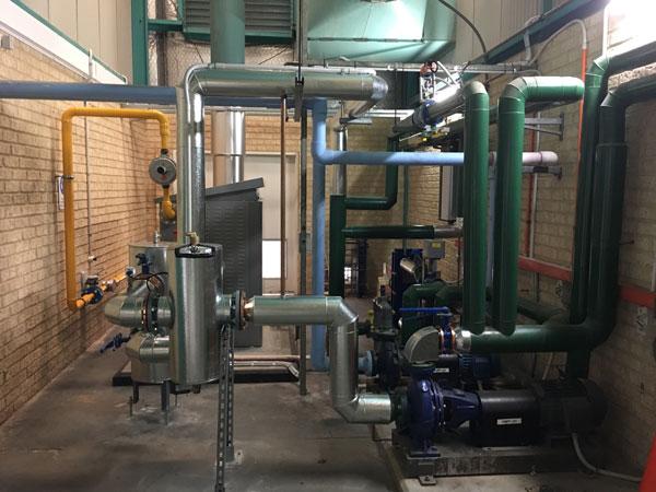 Boiler Plant Room