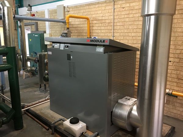 Boiler and Heating Water System